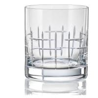 Crystalex Sklenice MATTE CROSS 280 ml, 4 ks
