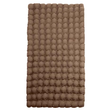 Hnědá relaxační masážní matrace Linda Vrňáková Bubbles, 110 x 200 cm