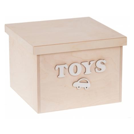 FK Dřevěný box na hračky - Toys malý