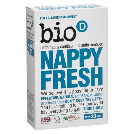 Bio-D Odstraňovač skvrn a dezinfekce pro dětské pleny 500 g