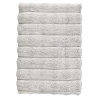 Světle šedý bavlněný ručník Zone Inu, 70 x 50 cm