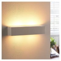 Lindby Sádrové nástěnné světlo Tjada s LED žárovkami G9