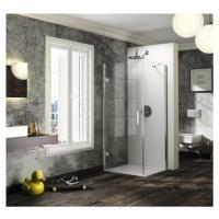 Sprchové dveře 90x200 cm levá Huppe Solva pure chrom lesklý ST2507.092.322