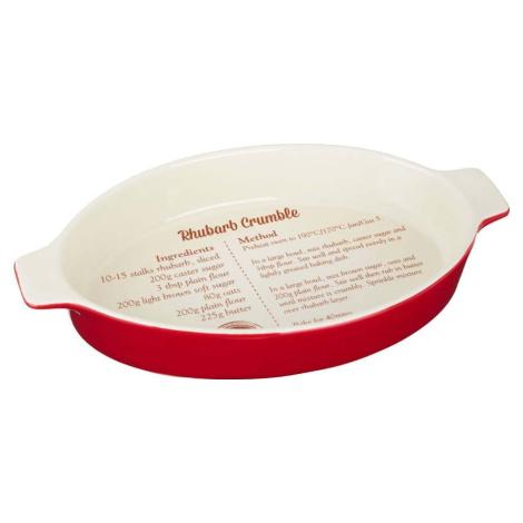 Pečící forma s receptem na rebarborový koláč Premier Housewares From Scratch