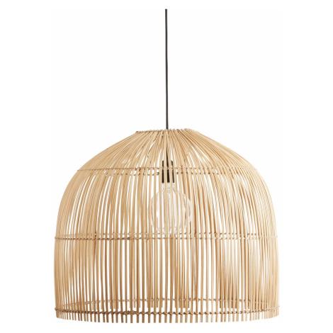 Závěsná lampa BUBBLE   přírodní