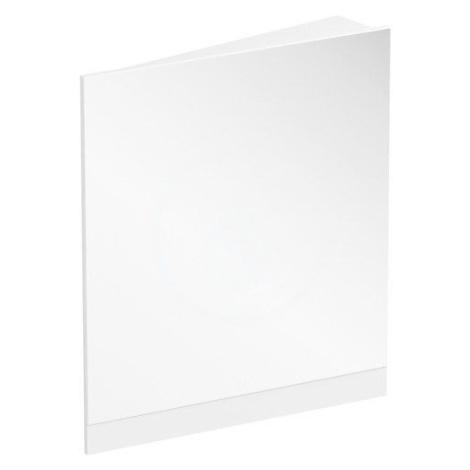 RAVAK 10° Zrcadlo rohové 650x750 mm, levé, bílá X000001076