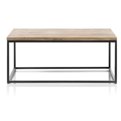 Konfereční stolek - dřevěný konferenční stolek devon (obdélník, hnědá) MC AKCENT
