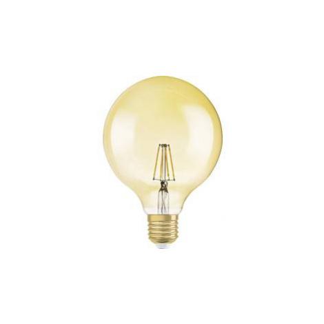 LED žárovka OSRAM 4058075810419 230 V, E27, 2.5 W = 21 W, zlatá, A++ (A++ - E), tvar globusu, 1