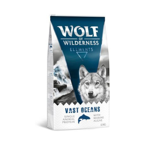 "Wolf of Wilderness ""Vast Oceans"" - ryba - 12 kg"