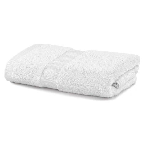 Bílý ručník DecoKing Marina, 50 x 100 cm