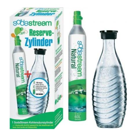 Skleněná láhev + bombička sodastream 1100065490