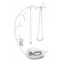 Ocelový stojan na šperky Umbra Orchid | bílý