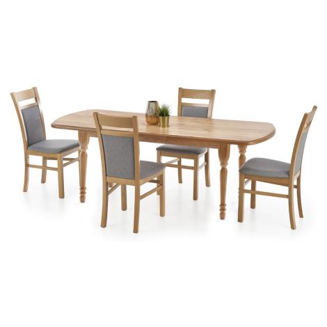 Halmar Rozkládací jídelní stůl ARNOLD, dub kraft