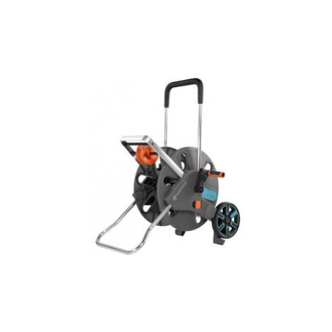Navíjecí vozík hadice - prázdný GARDENA 18520-20, šedá, tyrkysová, oranžová