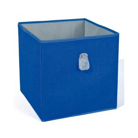 Úložný box Widdy, modrý ASKO - NÁBYTEK