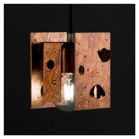 Knikerboker Knikerboker Buchi závěsné světlo 13x11x16,5 měď