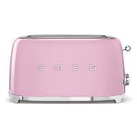 50's Retro Style toustovač P2x2 růžový 1500W - SMEG