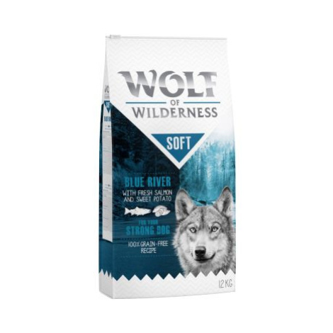 """Wolf of Wilderness Adult """"Soft - Blue River"""" - losos - 5 kg"""