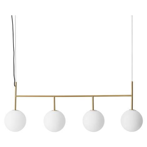 MENU Menu TR Bulb LED závěs 4zdroje mosaz/opálová mat