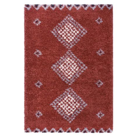 Červený koberec Mint Rugs Cassia, 120 x 170 cm