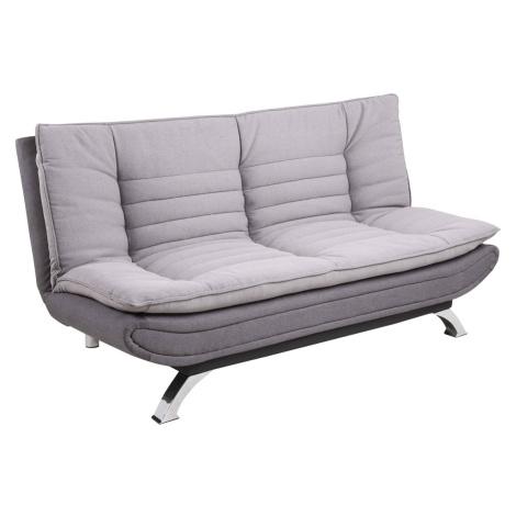 Dkton Designová rozkládací sedačka Alun 196 cm šedá