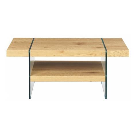 Sconto Konferenční stolek FESTINA divoký dub/sklo