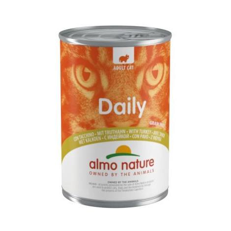Výhodné balení Almo Nature Daily Menu 12 x 400 g - krocaní