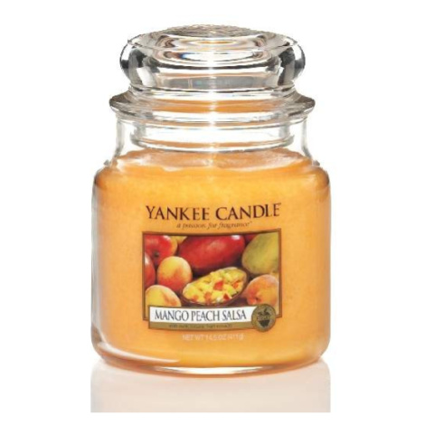 Svíčka YANKEE CANDLE 411g Mango Peach Salsa Housewarmer