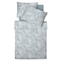 Fleuresse POVLEČENÍ, makosatén, modrá, šedá, bílá, 140/200 cm