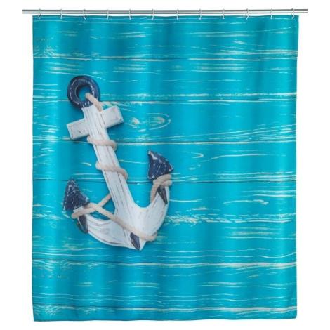 Sprchový závěs Wenko Aboard, 180 x 200 cm