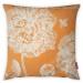 Oranžový povlak na polštář Vitaus Panento, 43 x 43 cm