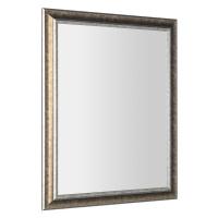 SAPHO AMBIENTE zrcadlo v dřevěném rámu 720x920mm, bronzová patina NL700