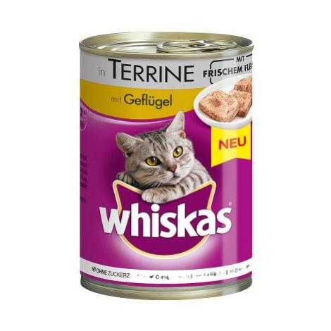 Whiskas 1+ konzerva 24 x 400 g - 1+ drůbeží v omáčce