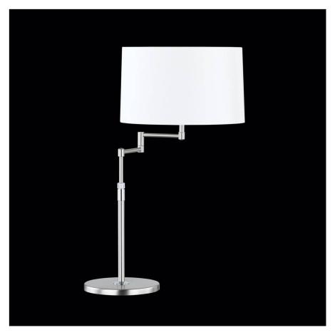 Hufnagel Nastavitelná stolní lampa Loop, stínidlo z chintzu
