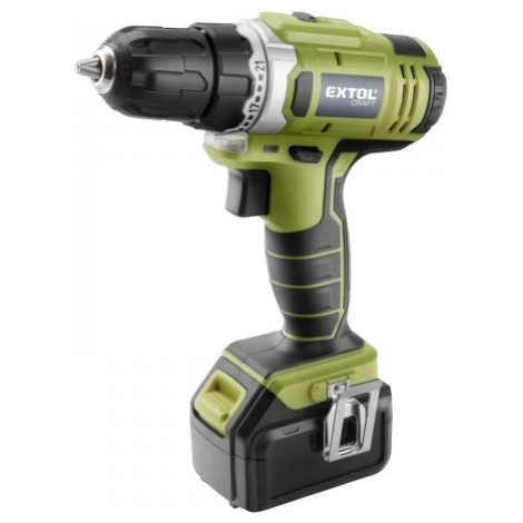 Extol Craft 402440 aku vrtačka 18V Li-ion 2x, 1500 mAh Extol Premium