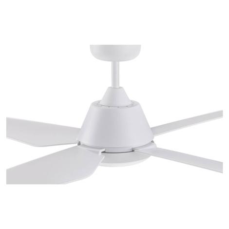 BEACON LIGHTING Stropní ventilátor Aria s LED světlem, bílá