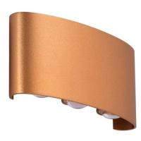 Azzardo AZ3485 - LED VenKovní nástěnné svítidlo GINNA 6xLED/1W/230V IP54