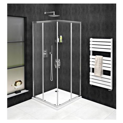 GELCO SIGMA SIMPLY čtvercový sprchový kout 900x900 mm, rohový vstup, čiré sklo GS2190GS2190