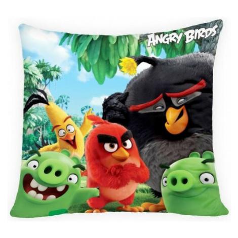 Halantex Polštářek Angry Birds movie, 40 x 40 cm
