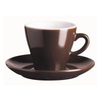 ASA Selection Šálek na espresso s podšálkem 70 ml čokoládová