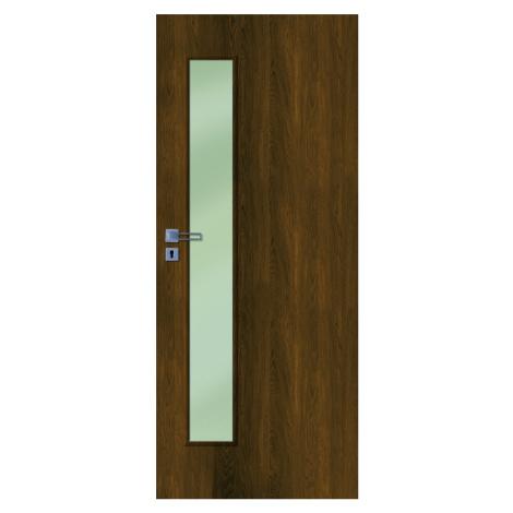 Interiérové dveře Naturel Deca pravé 70 cm ořech karamelový DECA10OK70P
