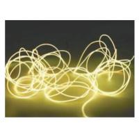 Elektroluminiscenční kabel, Ø 2 mm, 2 m, žlutá