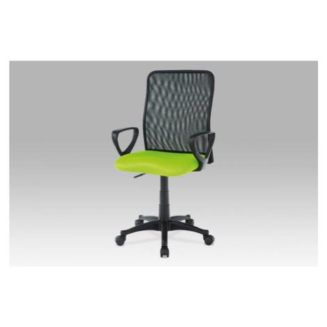 Kancelářská židle KA-B047 látka / plast Autronic Šedá