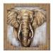 Ručně malovaný obraz elephant (100x100 cm)