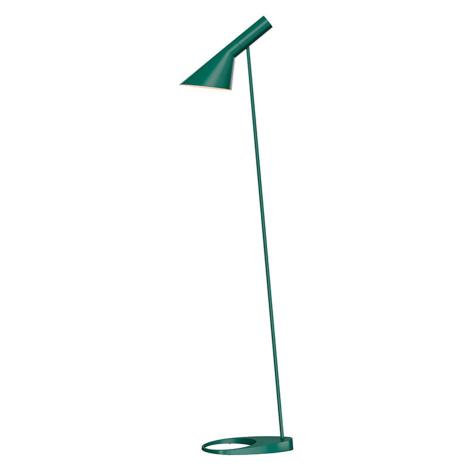 Louis Poulsen Louis Poulsen AJ - stojací lampa, tmavě zelená