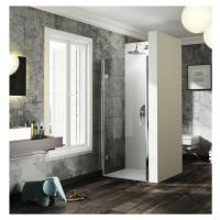 Sprchové dveře 80x200 cm levá Huppe Solva pure chrom lesklý ST2301.092.322
