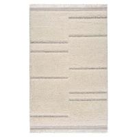 Béžový koberec Universal Kai Stripe, 130 x 195 cm