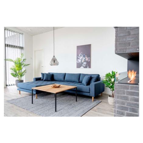 Norddan Designový konferenční stolek Willie 90 cm přírodní dub