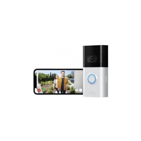 Wi-Fi domovní IP/video telefon ring Video Doorbell 3 8VRSLZ-0EU0, stříbrná