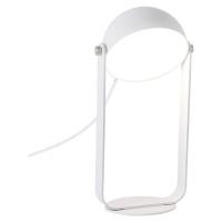 Viokef LED stolní lampa Hemi otočné stínidlo bílé